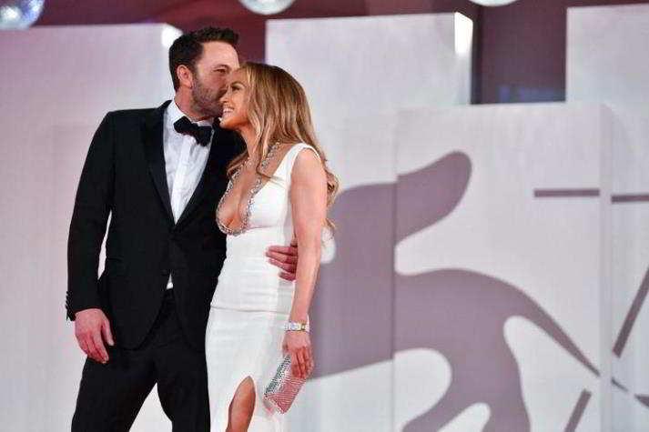 Jennifer Lopez e Ben Affleck a Venezia 78
